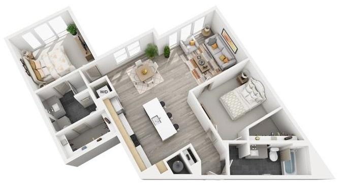 Floorplan - B8 image