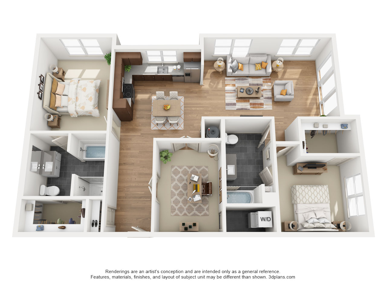 The Flats at Big Tex - Floorplan - B11