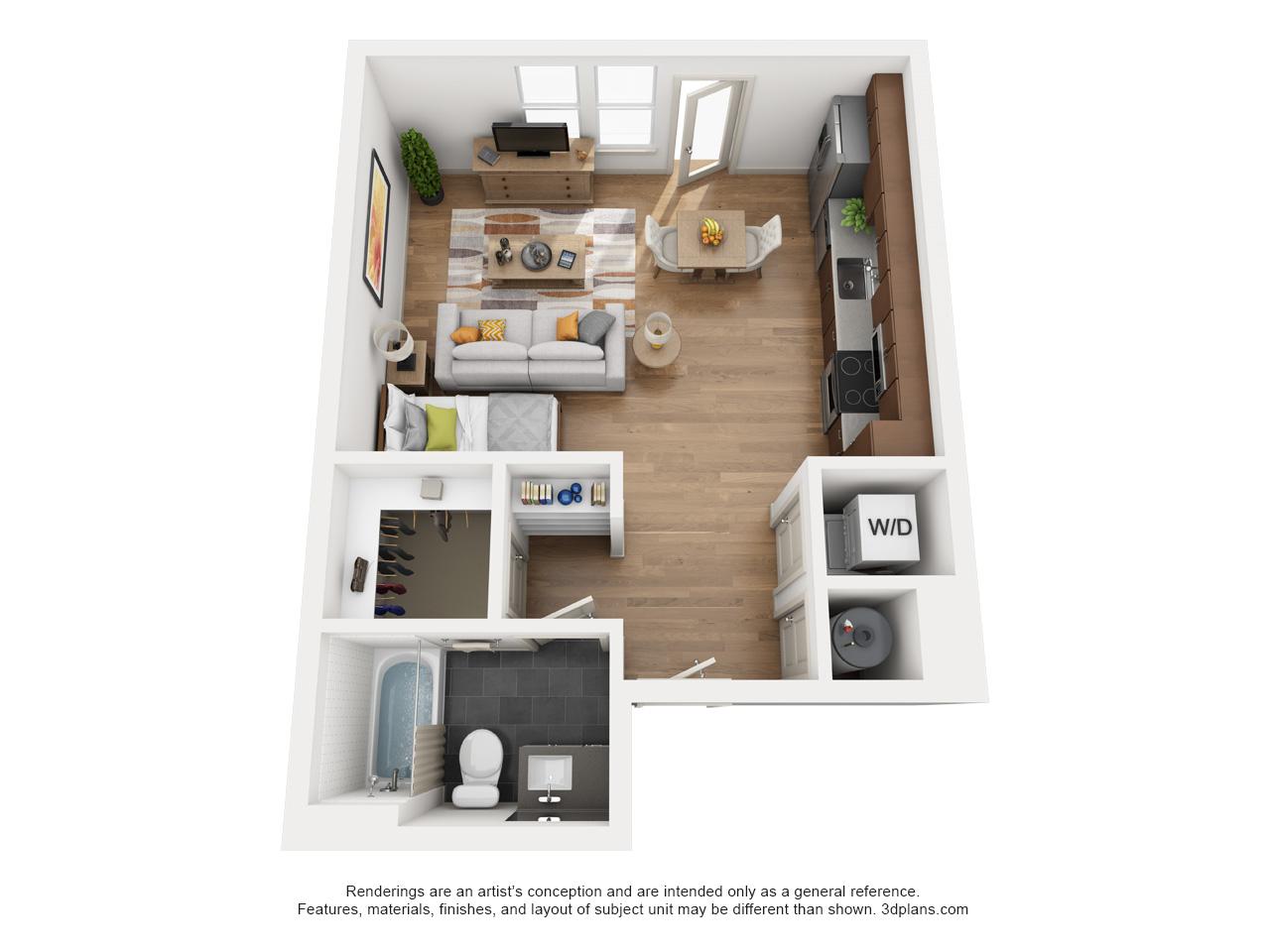 Floorplan - E1 image