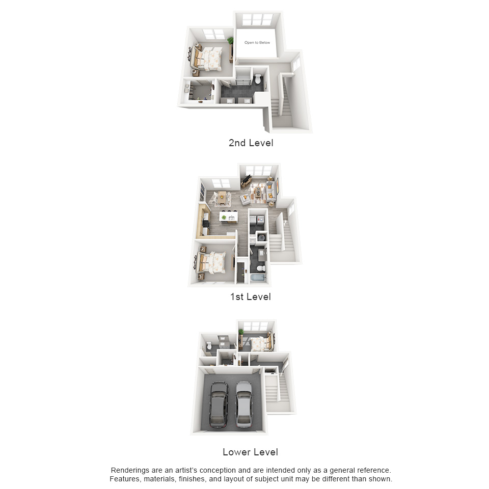 The Flats at Big Tex - Floorplan - TH2