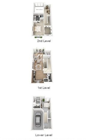 The Flats at Big Tex - Floorplan - TH1