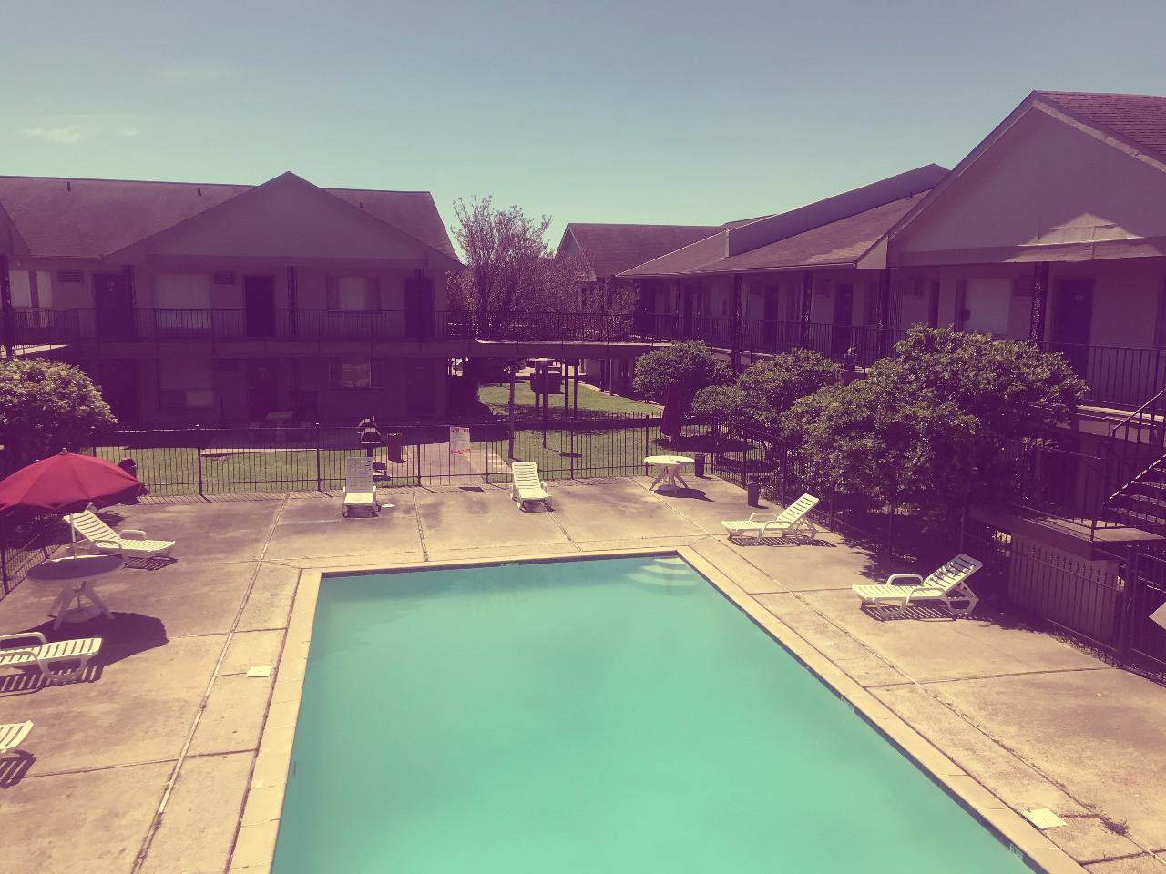 Sparkling Pool @ Fleur Apartments in Baton Rouge, LA
