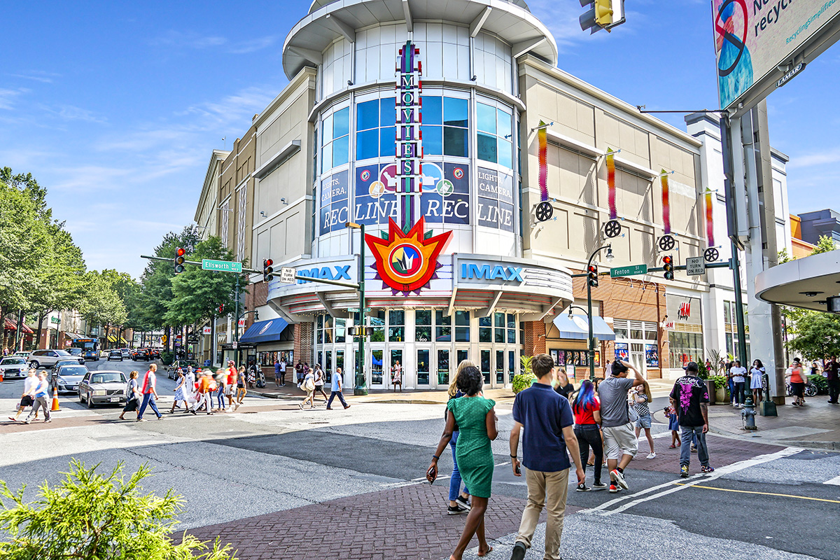Regal Majestic & Imax Theater is 8 minutes from Flower Branch Apartments in Silver Spring, MD