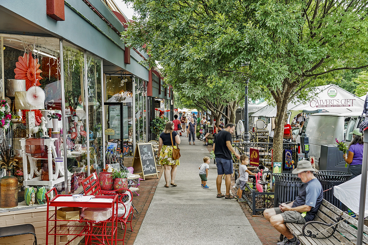 Main Street Takoma Park is 8 minutes from Flower Branch Apartments in Silver Spring, MD