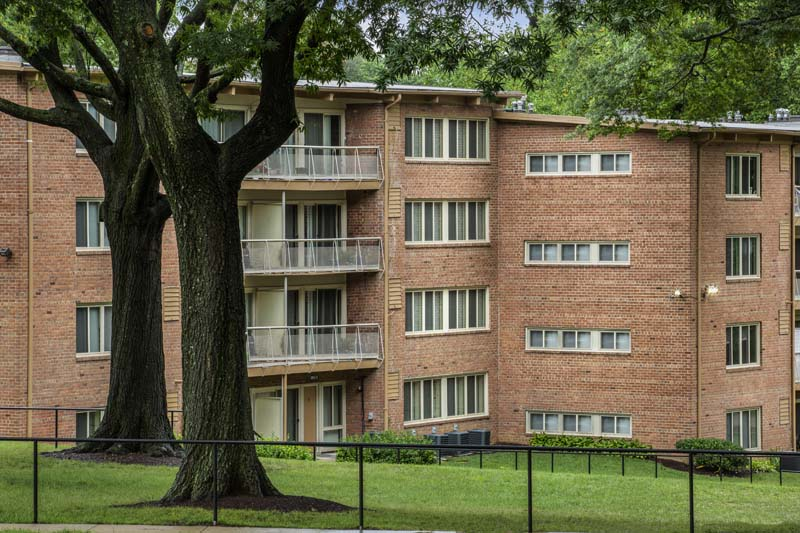 1, 2, and 3-bedroom apartments at Flower Branch Apartments in Silver Spring, MD
