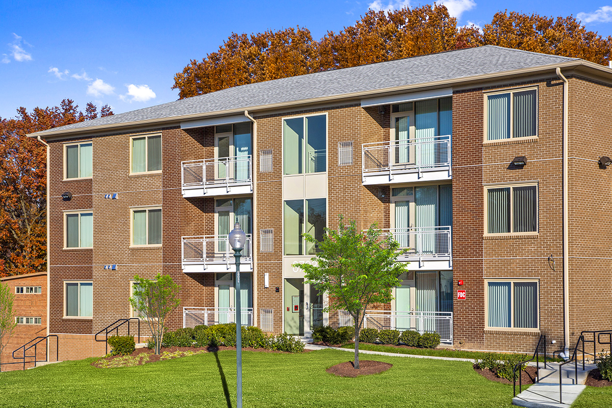 New building at Flower Branch Apartments in Silver Spring, MD
