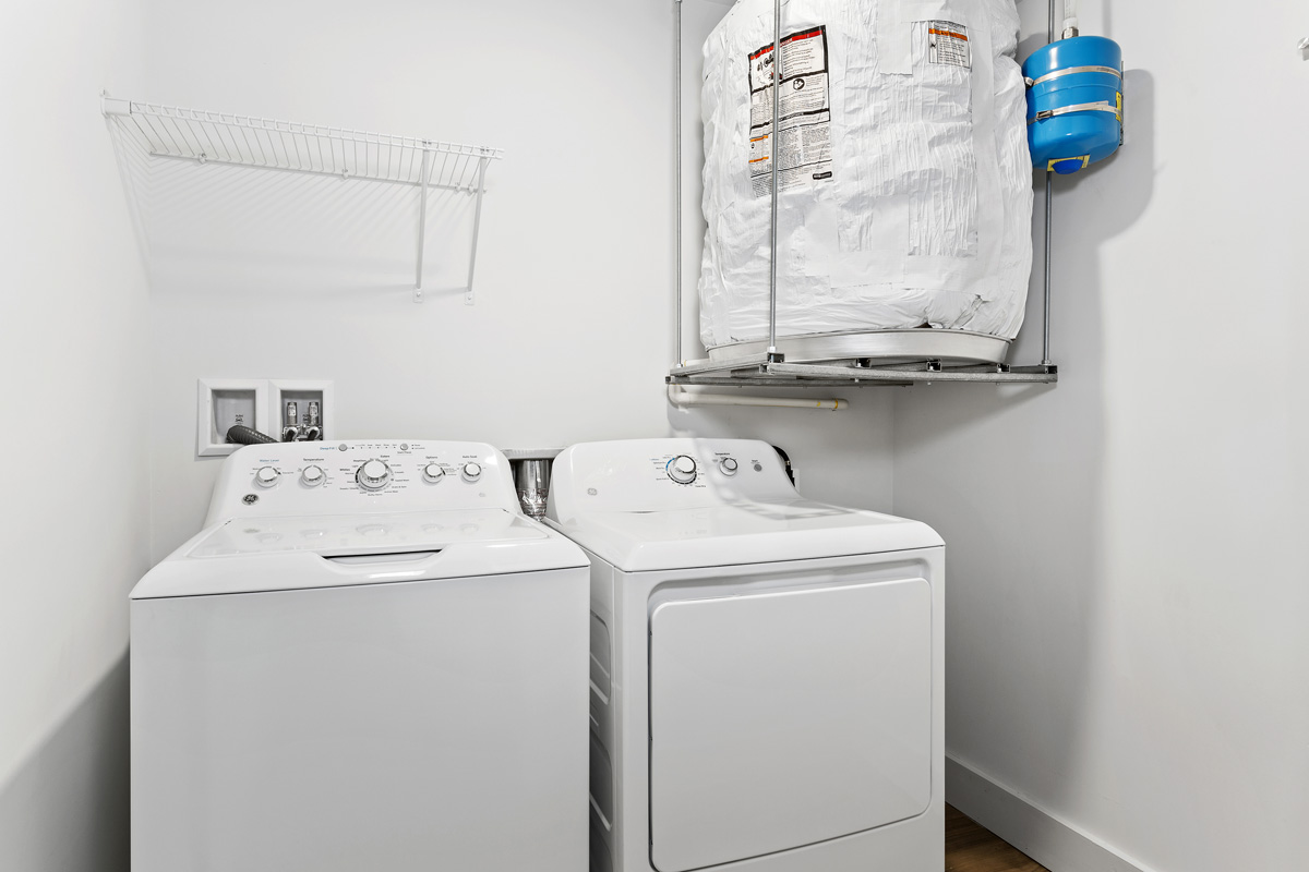 Washer and dryer in select apartments at Flower Branch Apartments in Silver Spring, MD