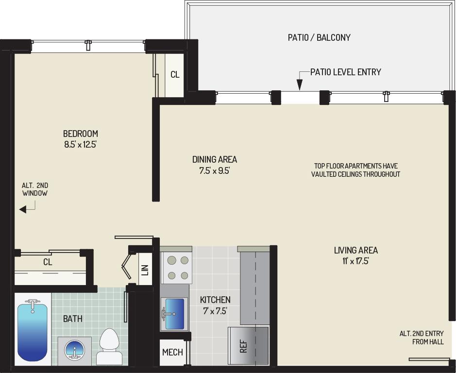 Flower Branch Apartments - Apartment 108857-204-D2