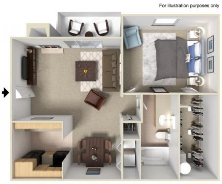 Floorplan - A12 image