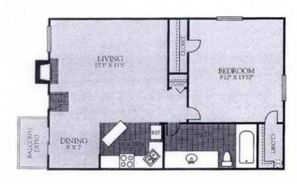 Floorplan - A14 image