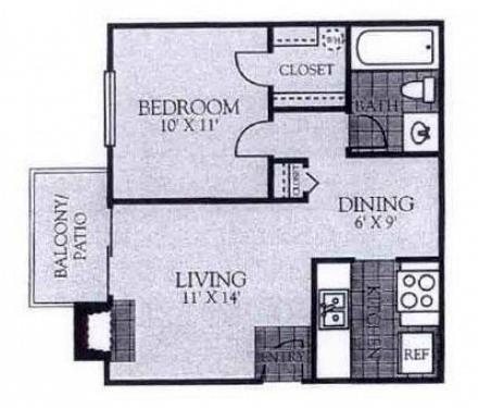 Floorplan - A8 image