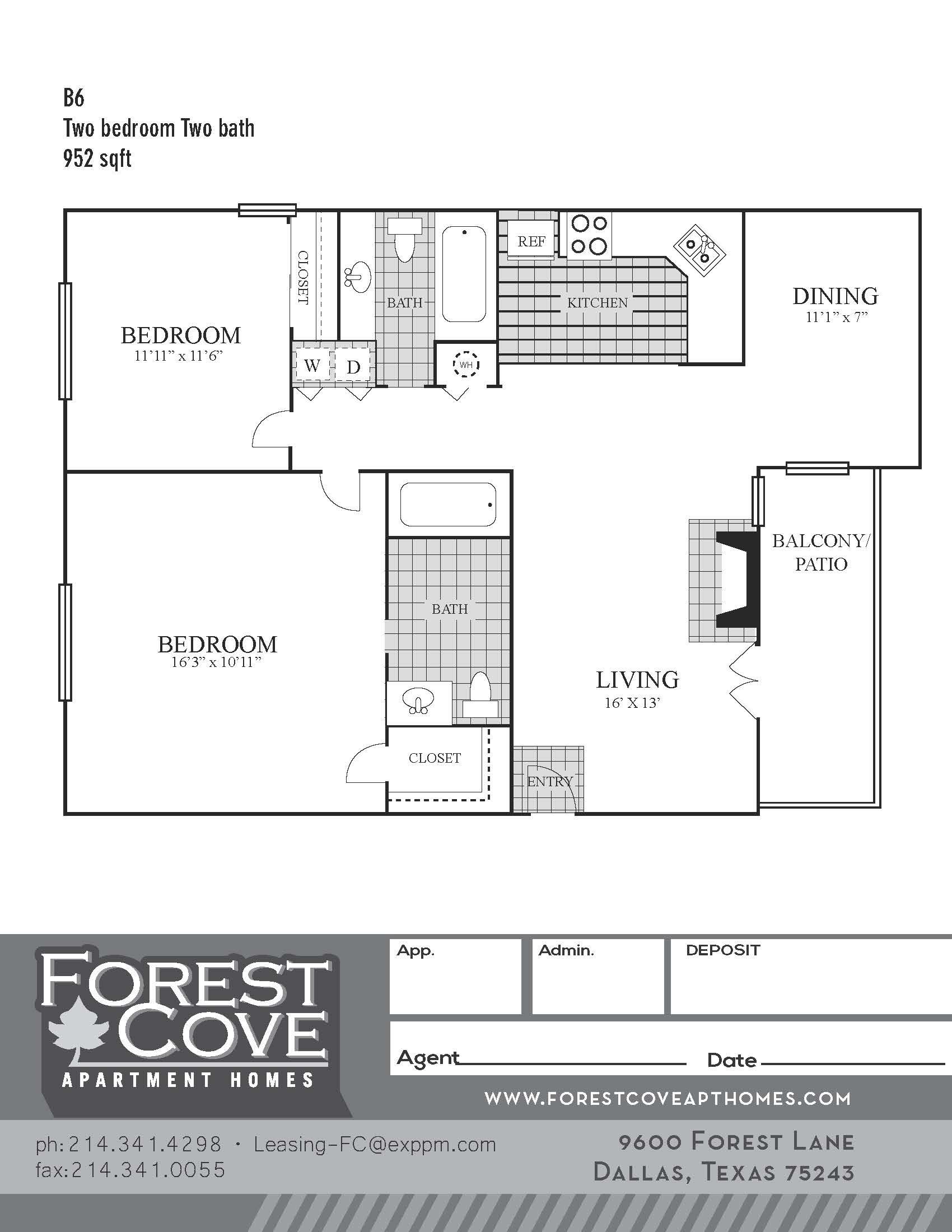 Floorplan - B6 image