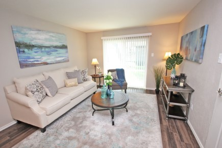 Bright, Spacious Bedrooms at Forest Cove Apartments in Dallas, Texas
