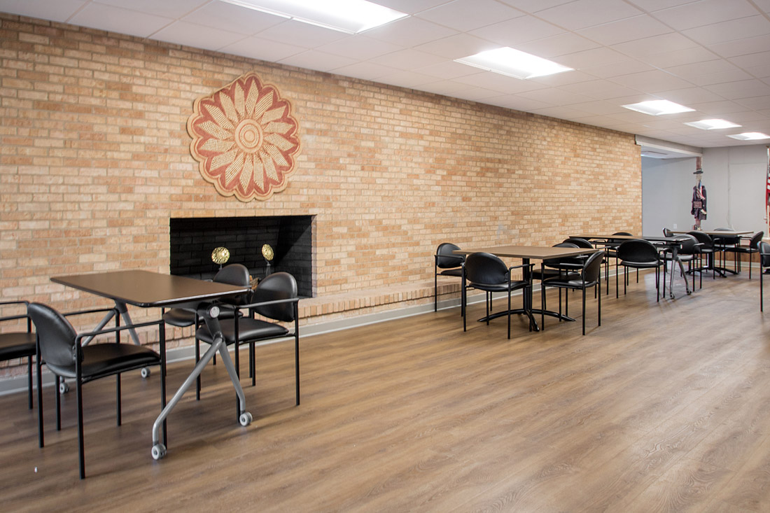 Community Room at Forest Dale Apartments in Dallas, Texas