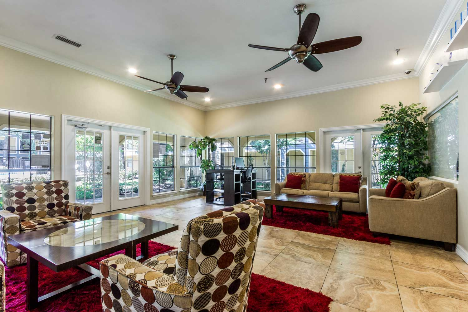 High-End, Shared Community Spaces at Forest Hills Apartments in Dallas, TX