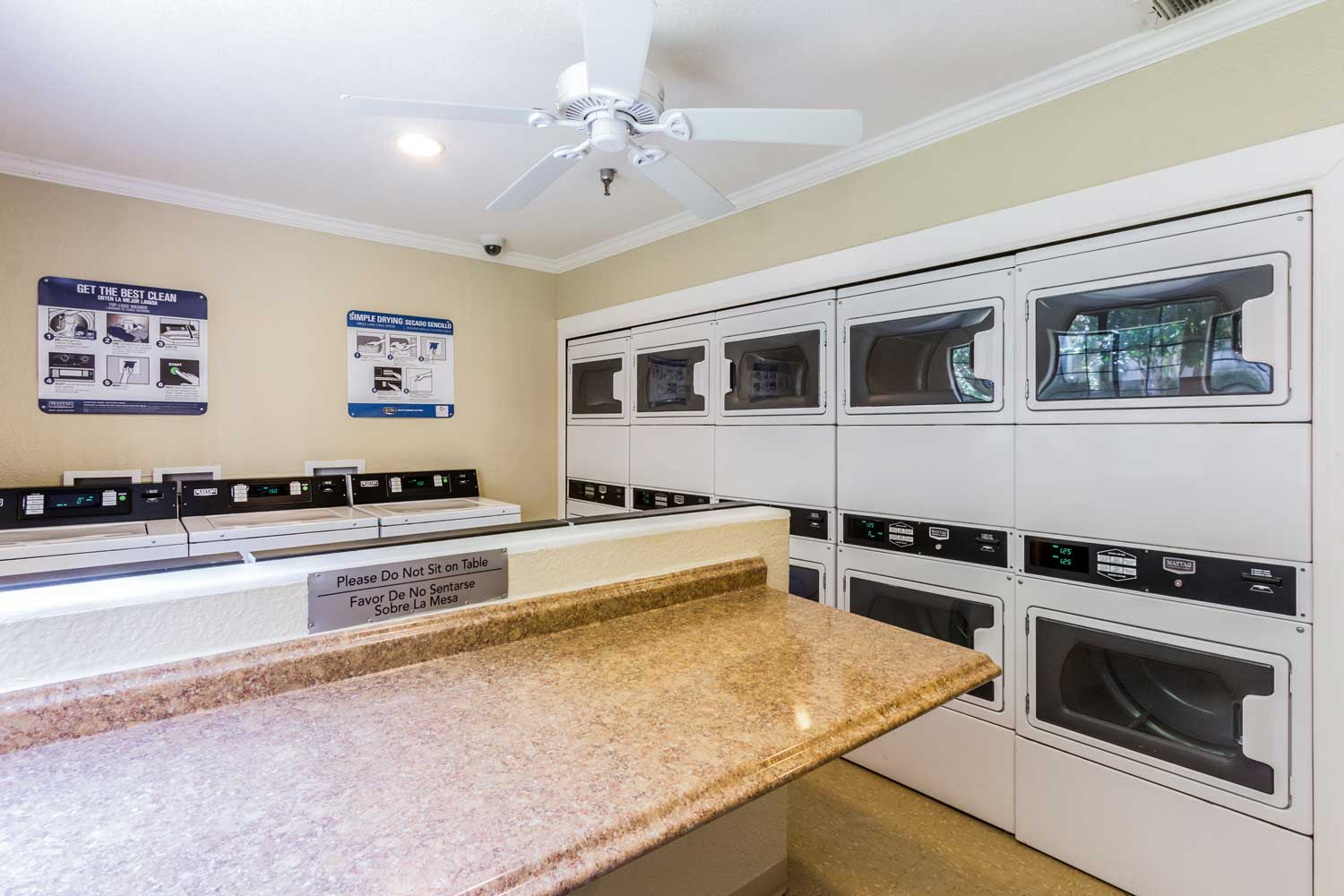 Washer and Dryers Available for Use at Forest Hills Apartments in Dallas, TX
