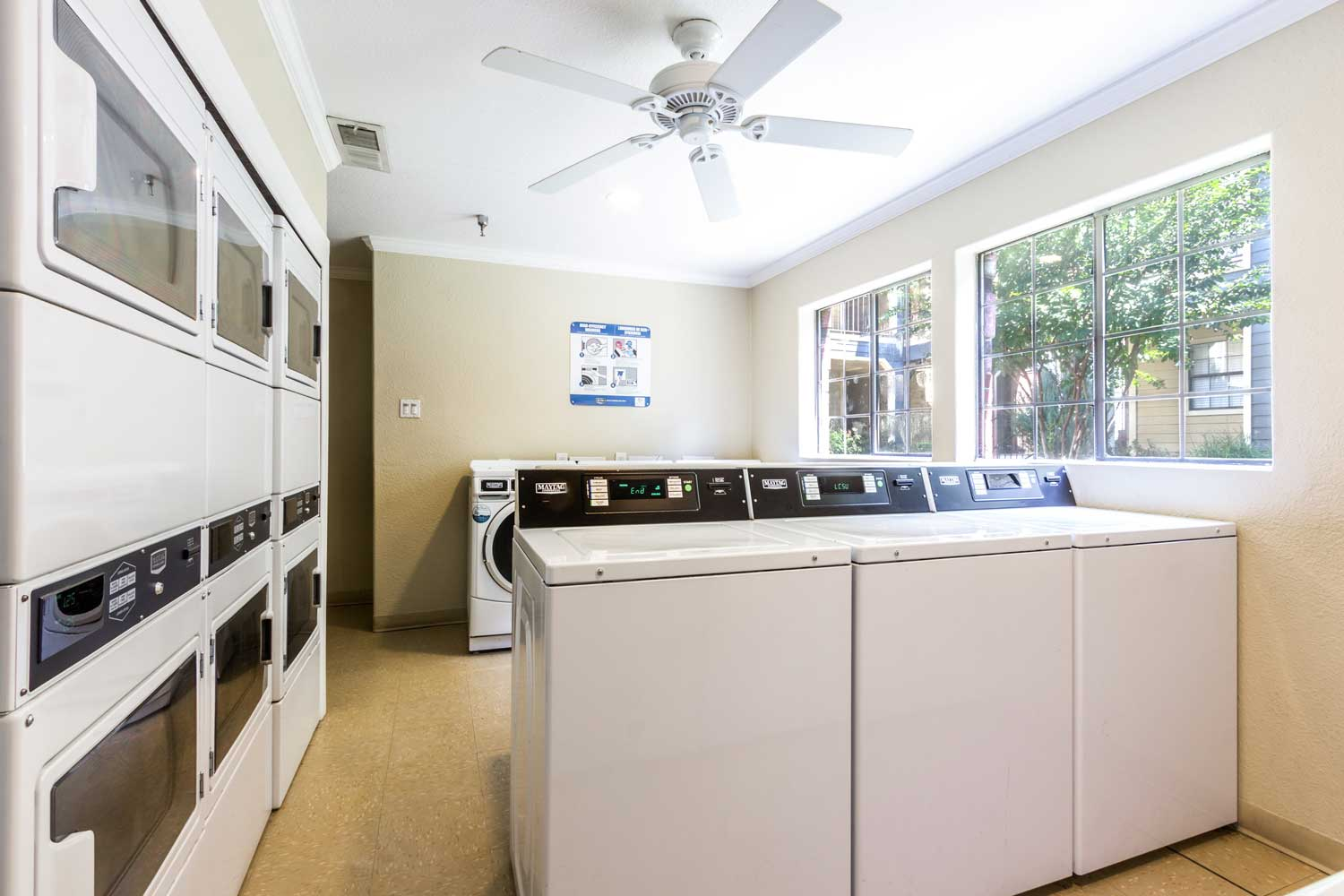 On-Site Laundry Facilityat Forest Hills Apartments in Dallas, TX