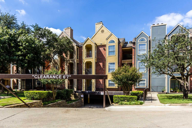 Parking Garageat Forest Hills Apartments in Dallas, TX