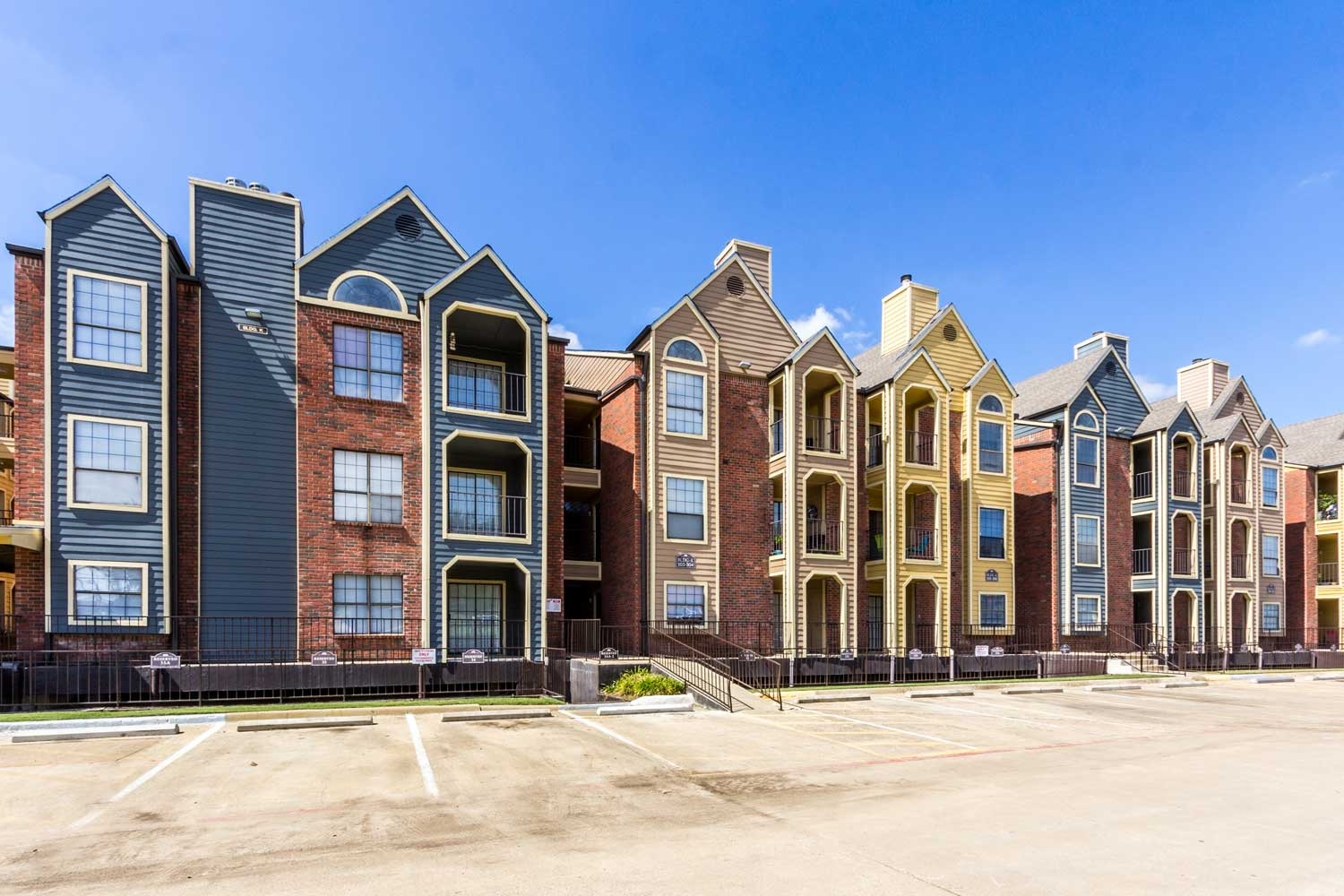 Resident Parking Area at Forest Hills Apartments in Dallas, TX