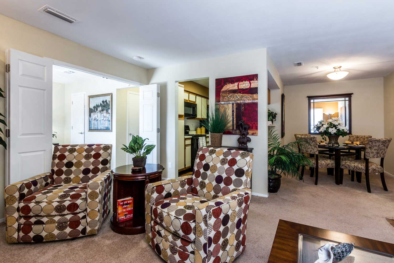 Updated Apartment Interiorsat Forest Hills Apartments in Dallas, TX