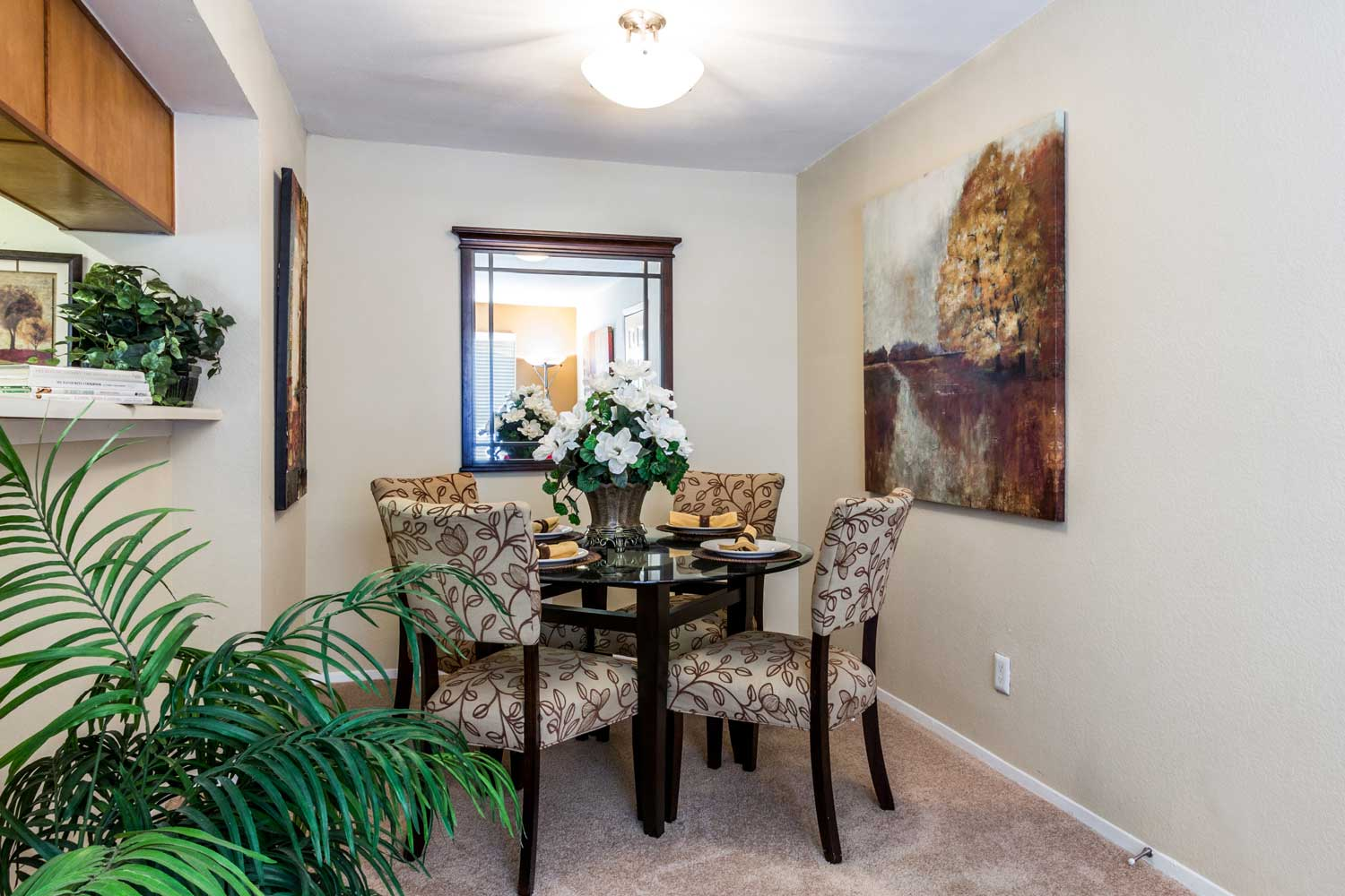 Separate Dining Area at Forest Hills Apartments in Dallas, TX