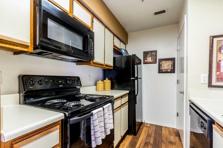 Electric Kitchen Appliancesat Forest Hills Apartments in Dallas, TX