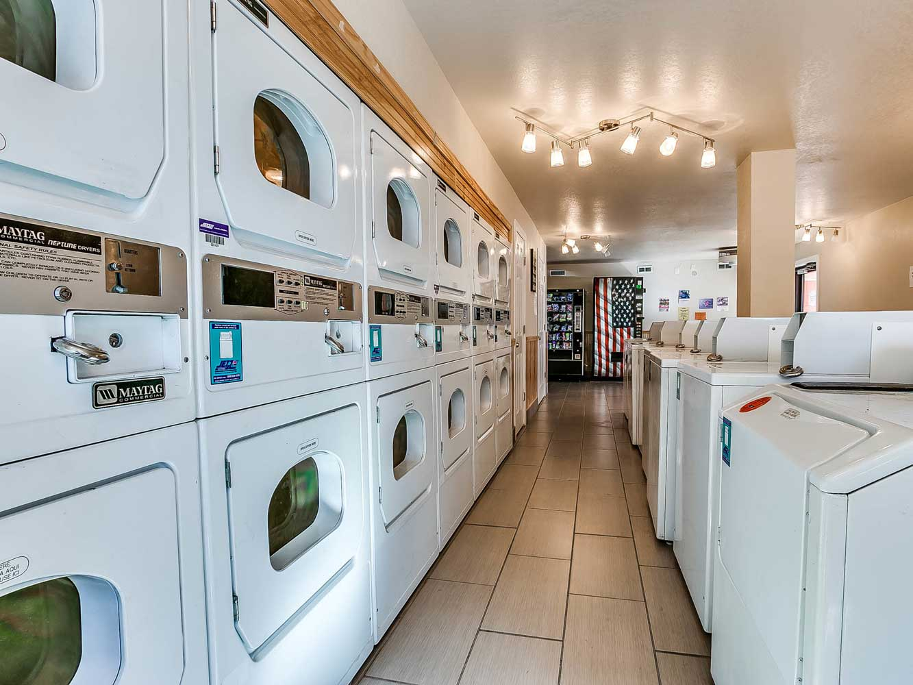 Laundry Facility at The Heights on Forty4 at Oklahoma City, OK