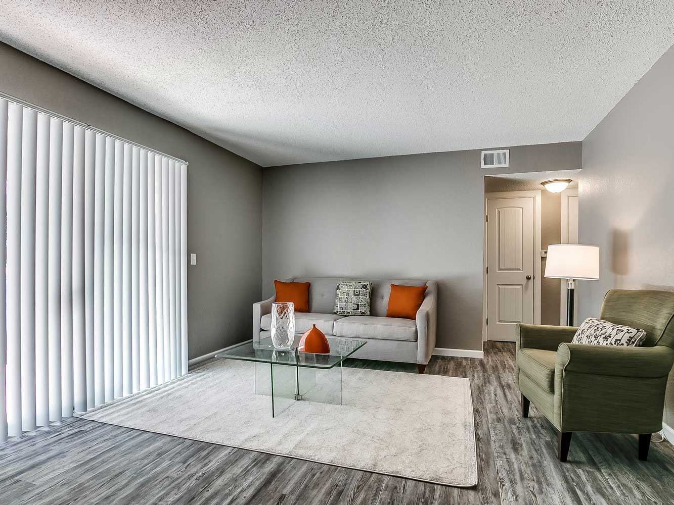 Living Room at The Heights on Forty4 at Oklahoma City, OK