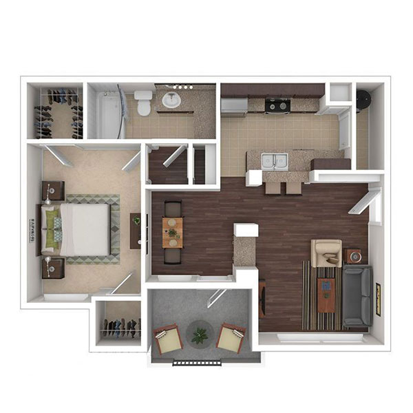 The Ranch at Fossil Creek - Floorplan - A1
