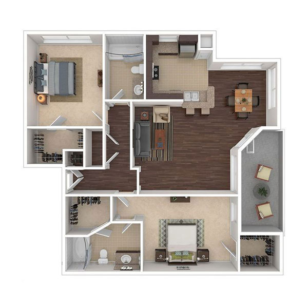 The Ranch at Fossil Creek - Floorplan - B2