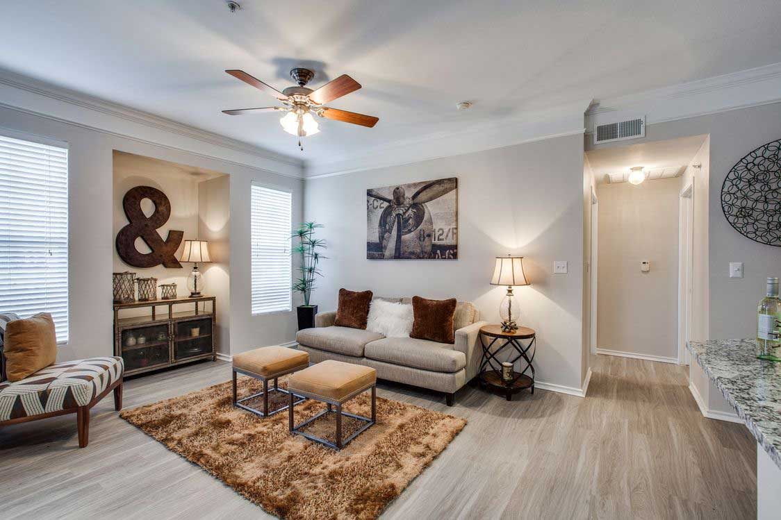 One-Bedroom Apartments at The Ranch at Fossil Creek Apartments in Haltom City, TX