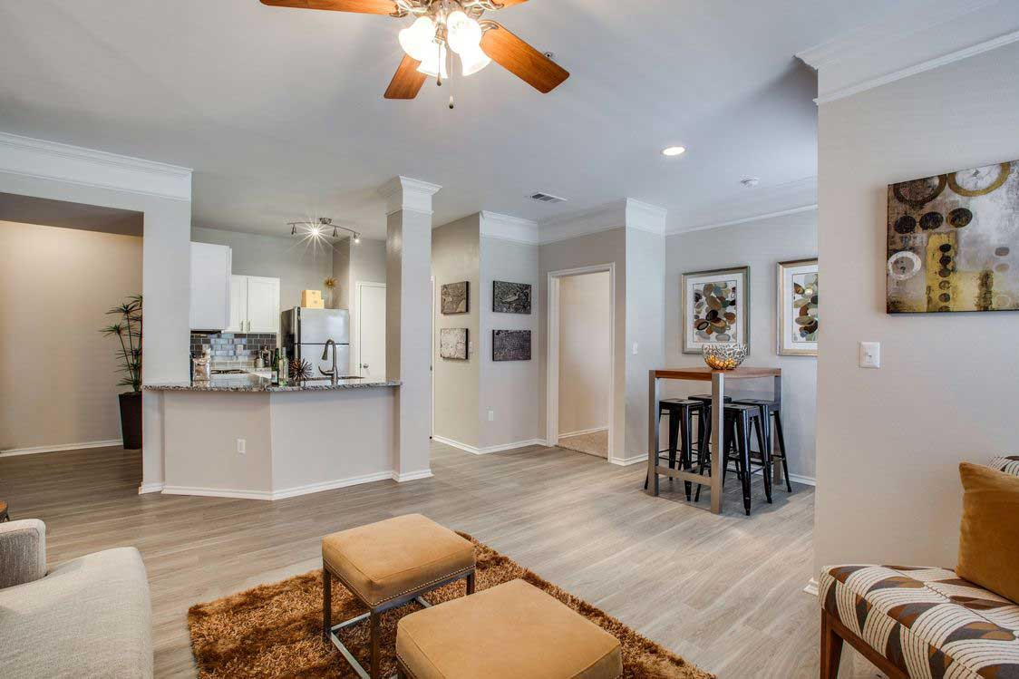 Two-Bedroom Apartments at The Ranch at Fossil Creek Apartments in Haltom City, TX