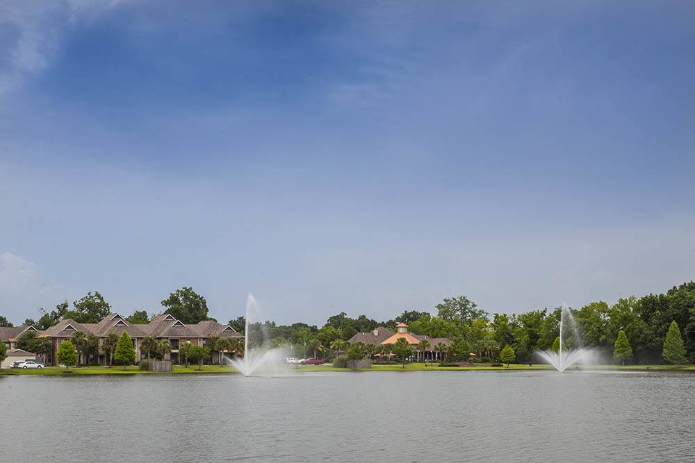 Beautiful Scenery at The Village at Fountain Lake Apartments in Gonzales, Louisiana