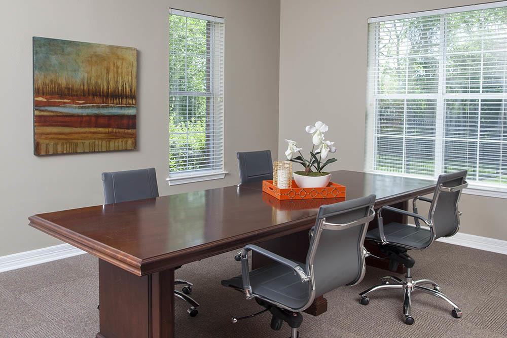 Meeting Room at The Village at Fountain Lake Apartments in Gonzales, Louisiana