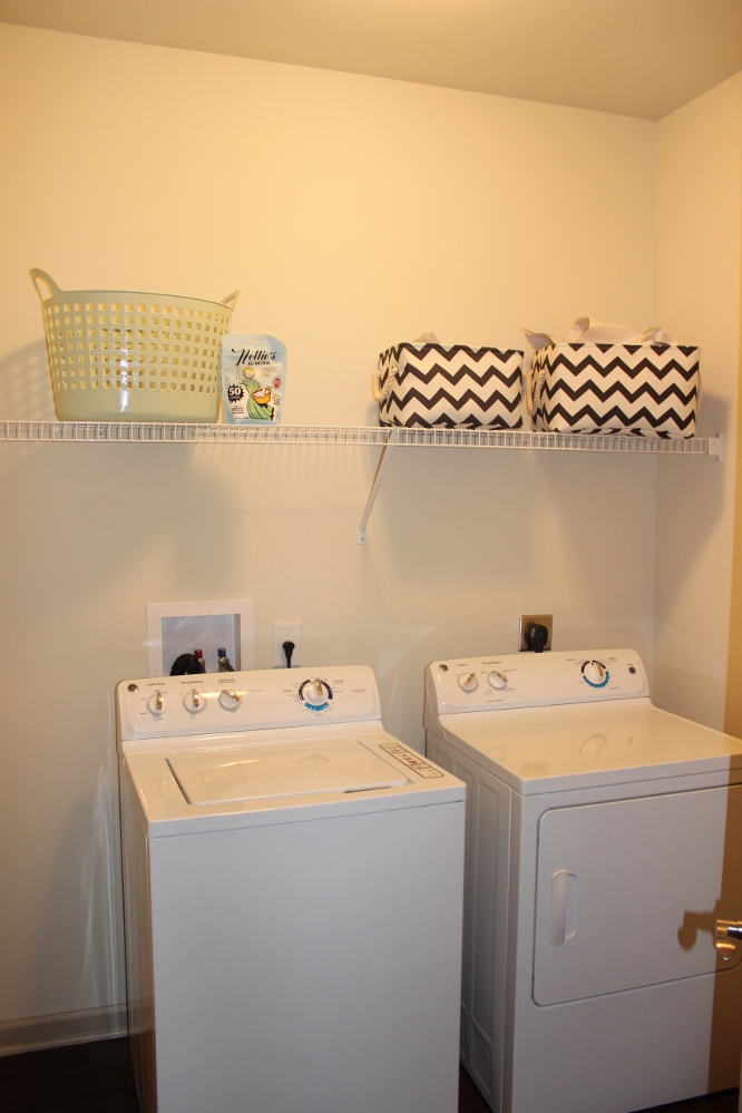 Laundry Area at the Reserve at Fountainview Apartments in Saint Charles, MO
