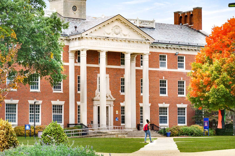 20 minutes to Howard University in Washington, D.C.