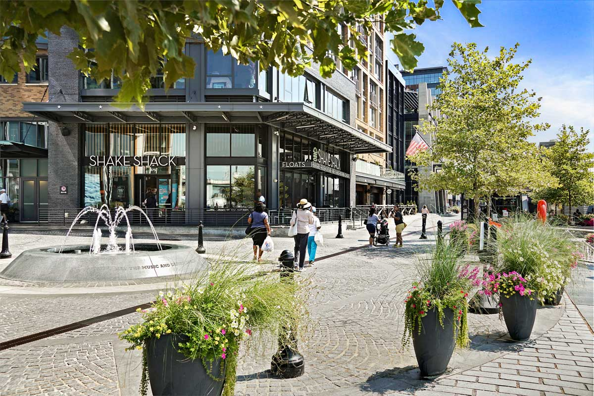 Shopping, dining, entertainment at The Wharf DC