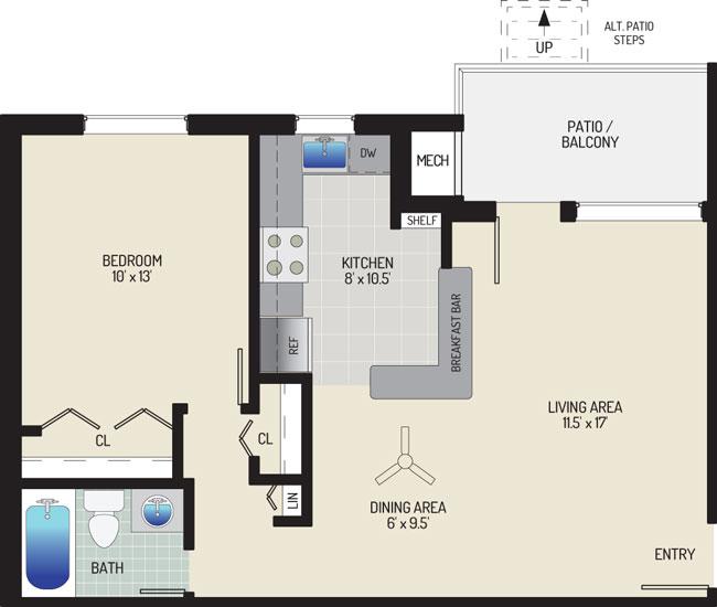 Gateway Square Apartments - Apartment 534871-04-A1