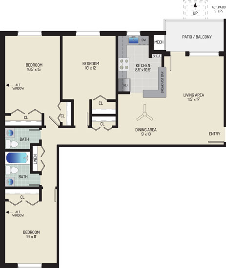 Gateway Square Apartments - Apartment 534867-08-M1