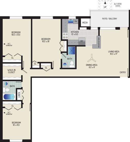 Gateway Square Apartments - Apartment 534859-T2-N1