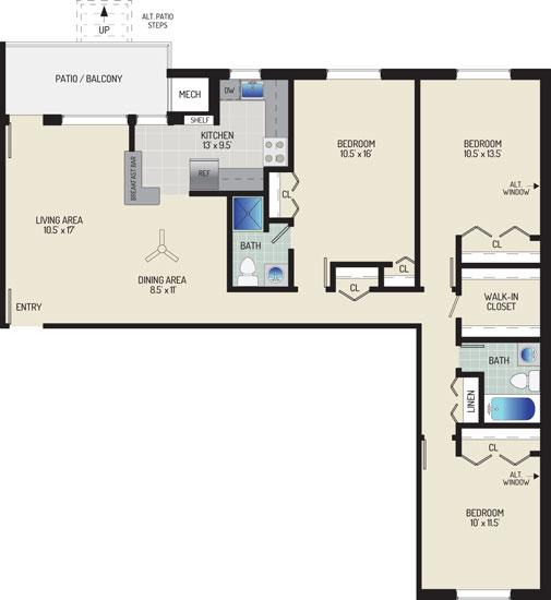 Gateway Square Apartments - Apartment 534859-07-N2