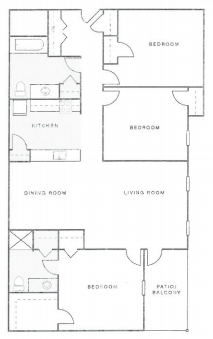 Gleneagles Apartments - Floorplan - The Thoroughbred 2