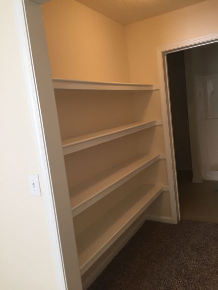 Oversized Closets at Gleneagles Apartments in Lexington, Kentucky