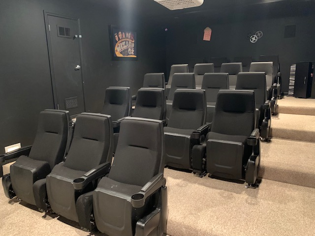 Cinema Room at Gleneagles Apartments in Lexington, Kentucky