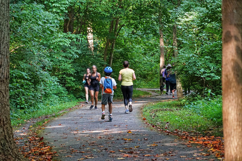 5 blocks to beautiful Sligo Creek Park with 7-mile paved trail