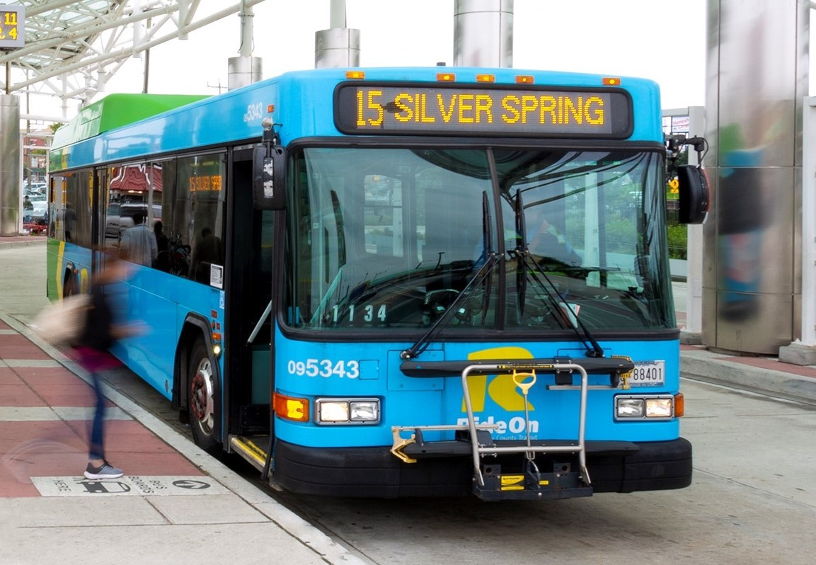 5 Ride On bus lines stop at Goodacre & Pine Ridge Apartments