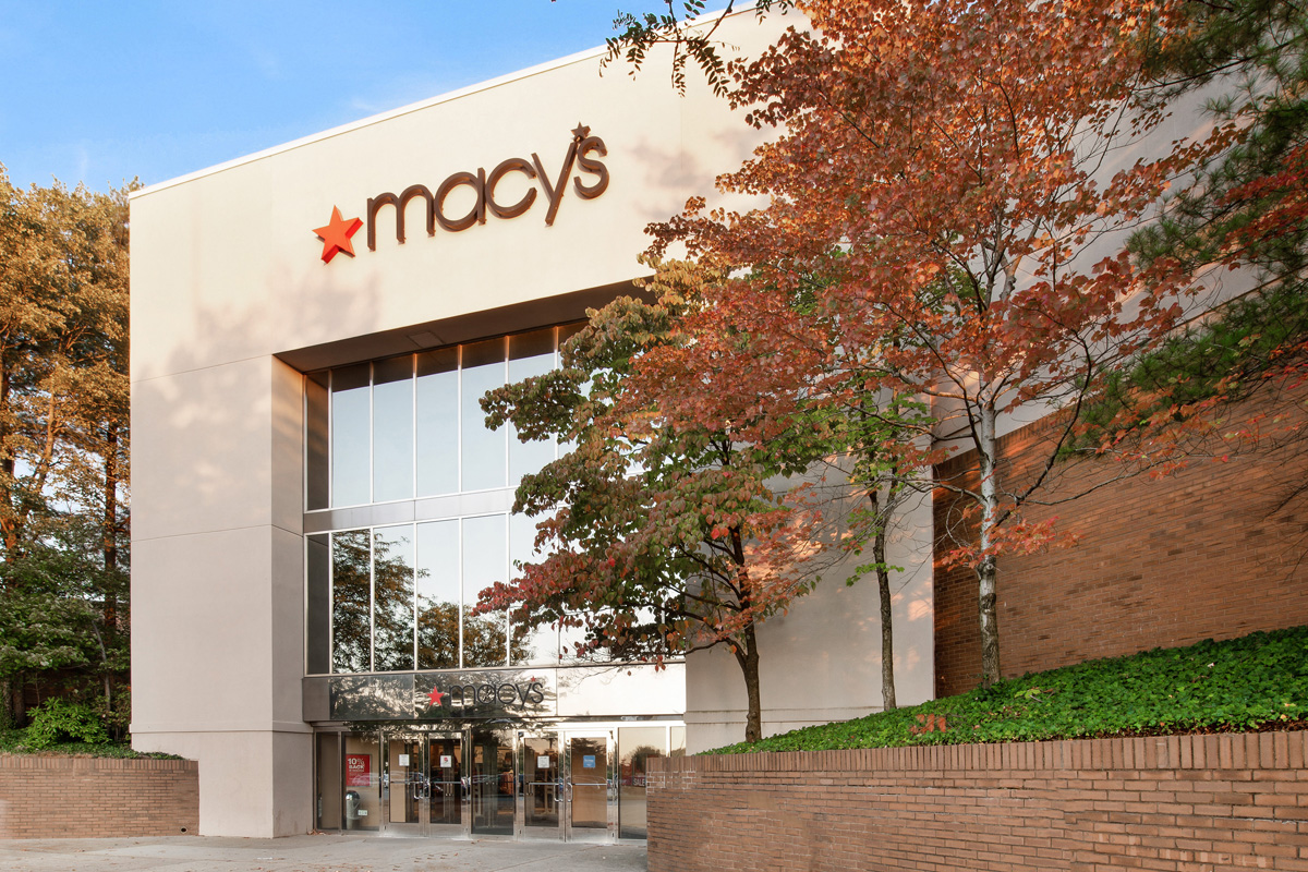 Macy's is 10 minutes from Governor Square Apartments in Gaithersburg, MD