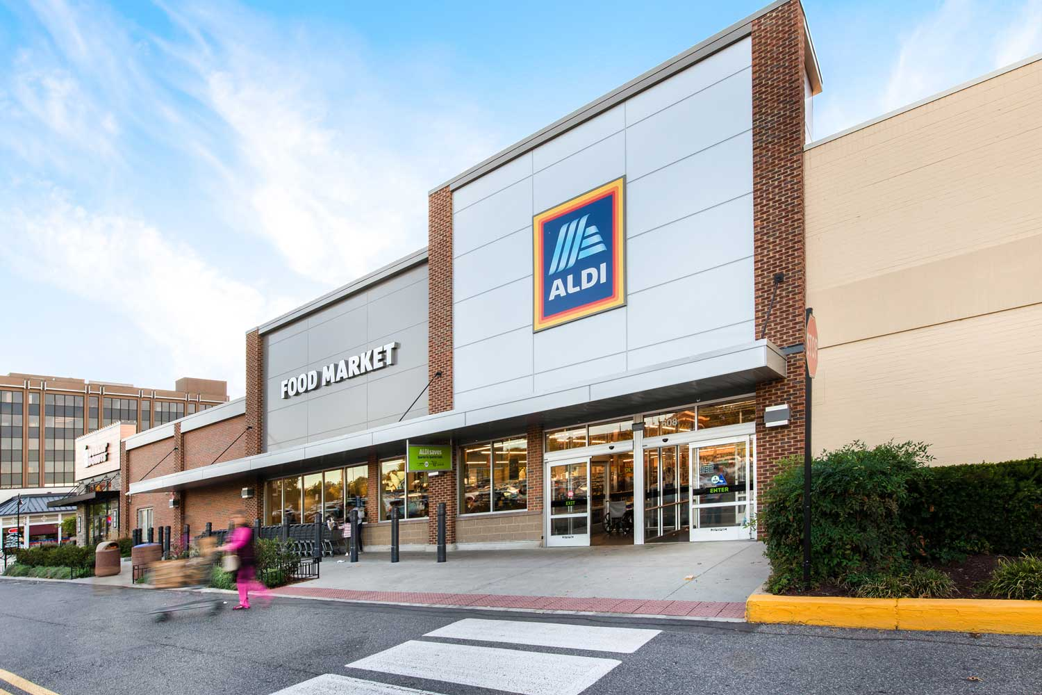 Aldi is 5 minutes from Governor Square Apartments in Gaithersburg, MD