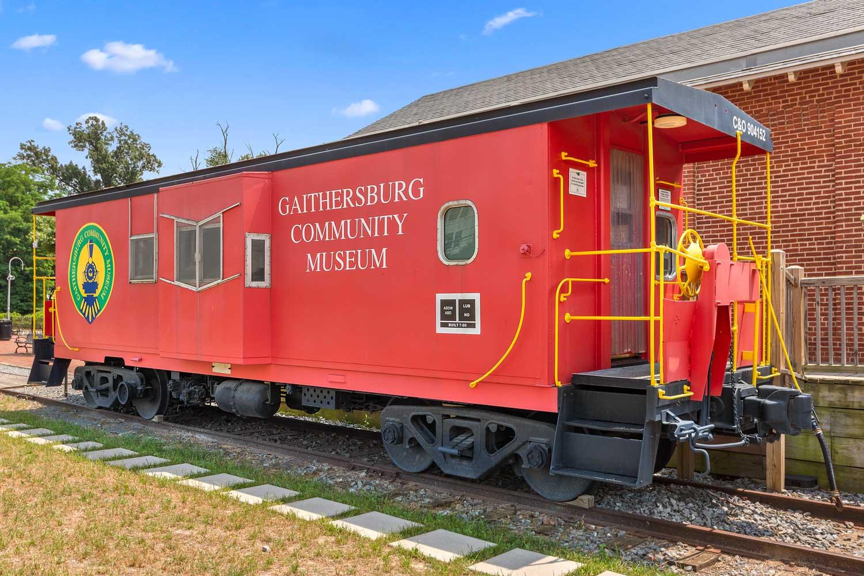 5 minutes to Gaithersburg Community Museum in Gaithersburg, MD