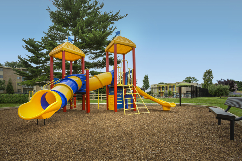 3 onsite play areas at Governor Square Apartments in Gaithersburg, MD